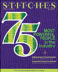Joyce Jagger, The Embroidery Coach, #47 of 75 Most Power People in the Decorating Apparel Industry