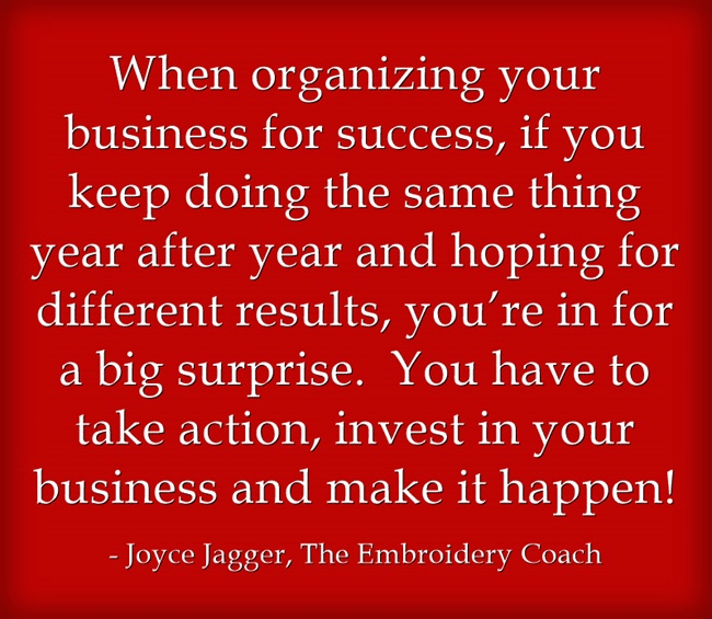 When Organizing Your Business