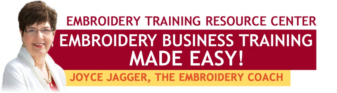 Embroidery Business Training Made Easy