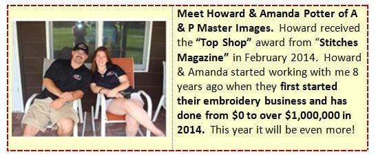 Howard & Amanda Potter