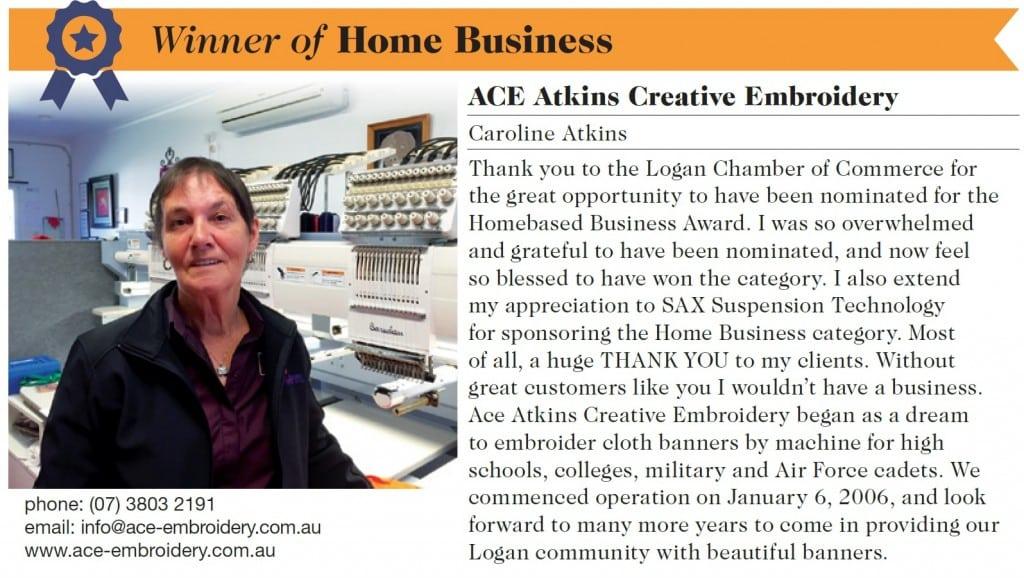 Caroline Atkins-Chamber Award