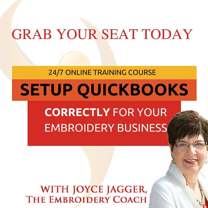 Embroidery Business Bookkeeping System