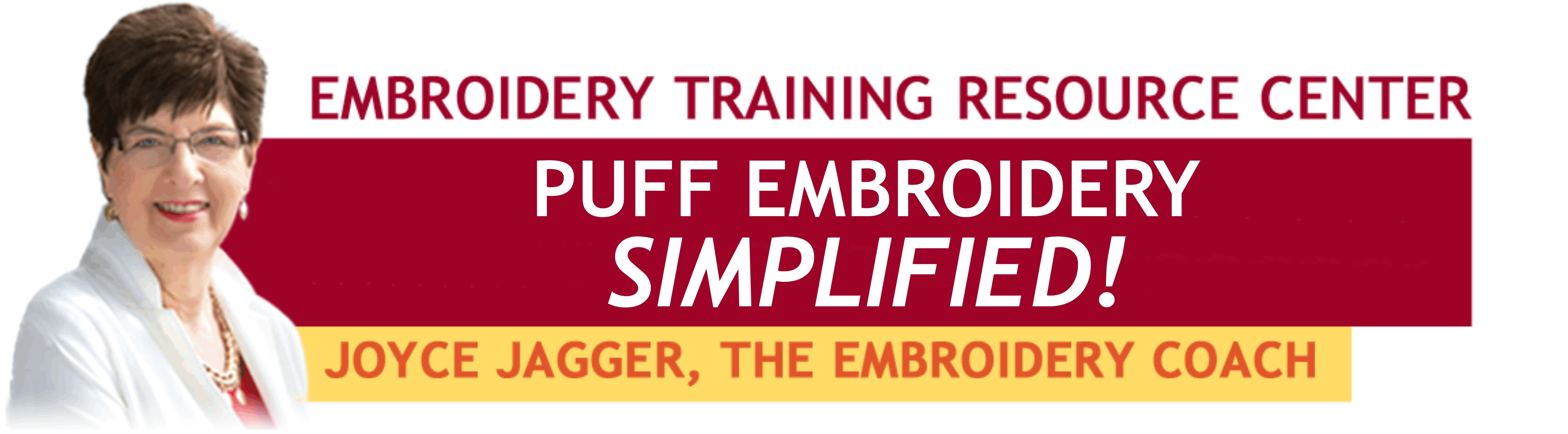 Puff Embroidery SIMPLIFIED!