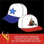 """""""Taking The Guess Work Out Of Embroidery On Caps!"""""""