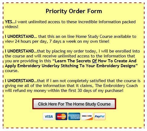 Priority Order Form-Underlay