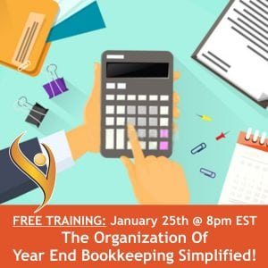 Year End Bookkeeping Simplified