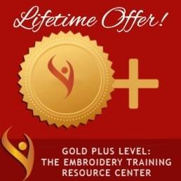 Lifetime Embroidery Training Membership